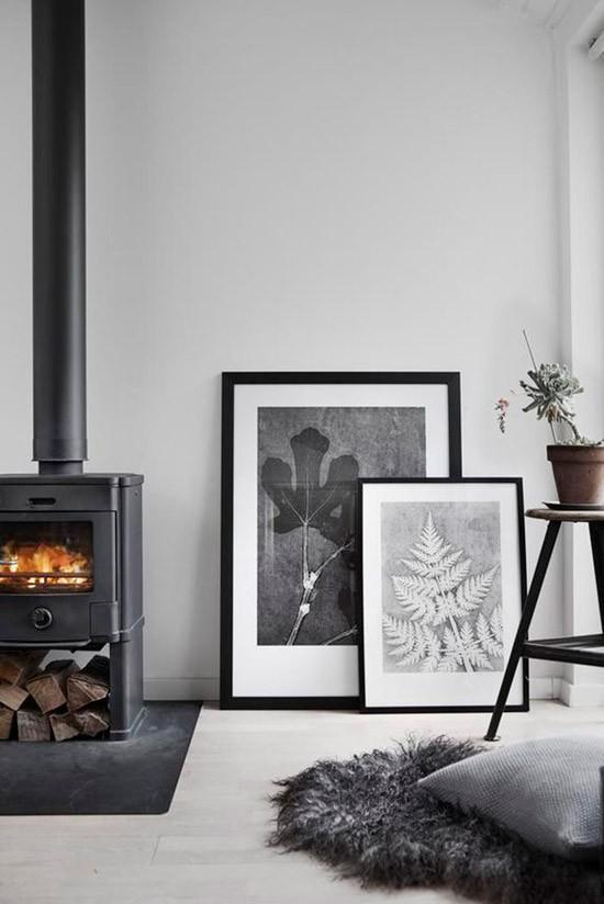 Zwart witte posters voor de woonkamer