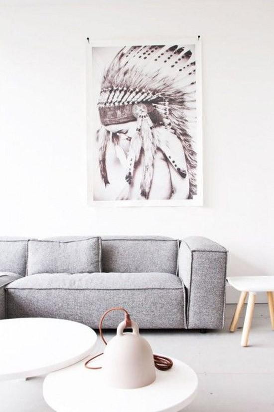 Interieur Ideeen Woonkamer Zwart Wit : Woonkamer zwart wit hout ...