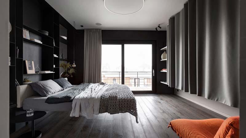 zwevend bed modern